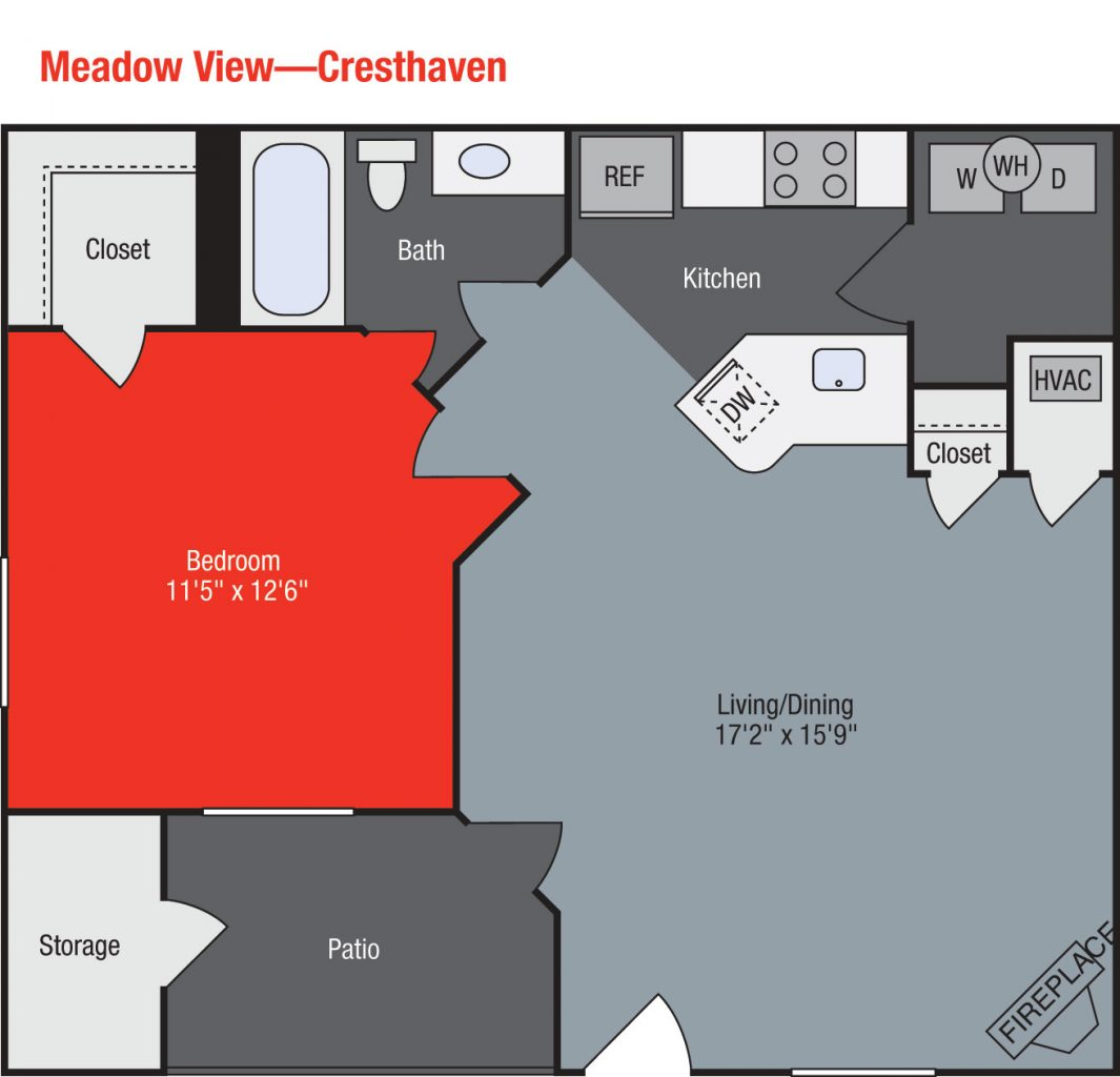 Apartments For Rent TGM Meadow View - Cresthaven