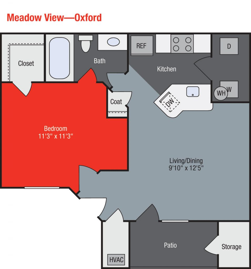 Apartments For Rent TGM Meadow View - Oxford