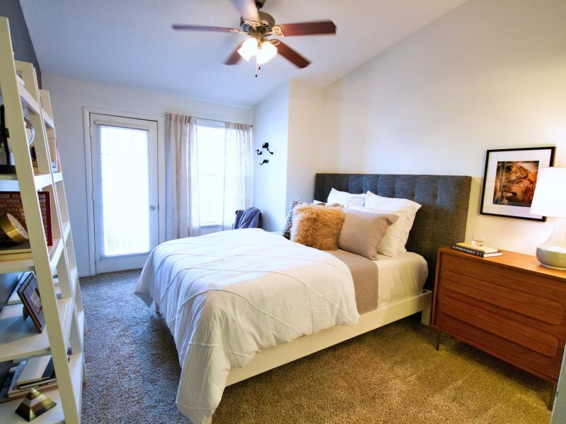 TGM Meadow View Apartments Bedroom